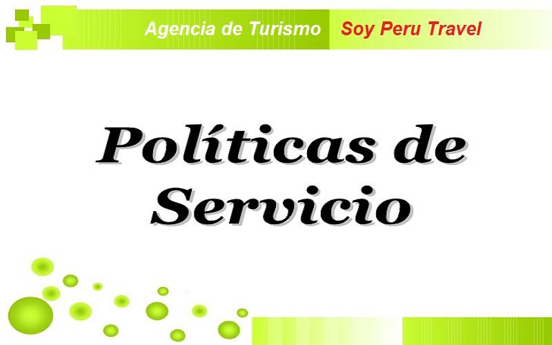 Politicas de Servicio